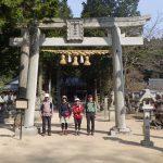 由加神社で安全登山をお祈り