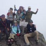 羅臼岳山頂にて