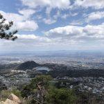 北山貯水池と甲山