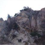 花崗岩の奇岩が作る絶景です