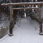 葛木神社の鳥居