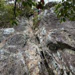 滝周回コースの難所