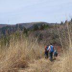 フトウガ峰から段ヶ峰への美しい稜線