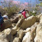 またまた岩登り