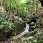 清流の流れる渓谷