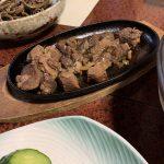 イノシシ肉のコロコロステーキ
