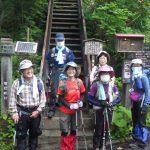 まずは1座目会津駒ケ岳登山口