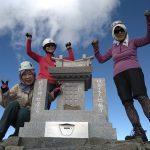 奥穂高岳登頂!