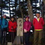 光岳山頂・見晴らしナシ